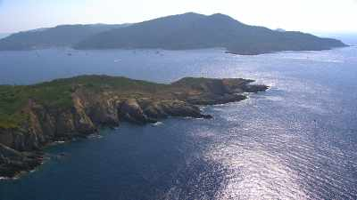 Vues d'ensemble de l'île de Port-Cros