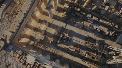 Restauration de l'Acropole