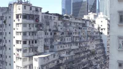 Immeubles à Hong-Kong