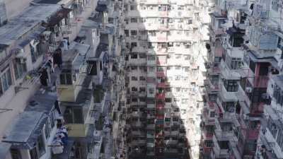 Immeubles à Hong-Kong