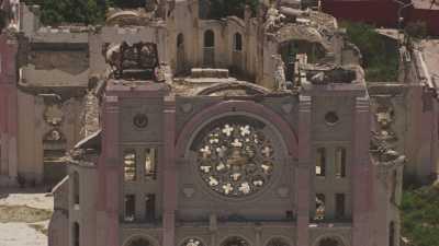 Plans rapprochés des ruines de la cathédrale