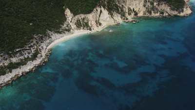 Le littoral, plages sauvages et falaises