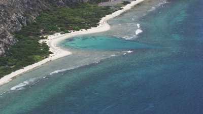 Le littoral de plages sauvages