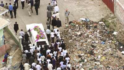 Procession d'enterrement