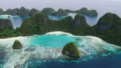 Pulau Wayag, archipel isolé des Raja Ampat