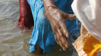 Bain lors de la Kumbh Mela