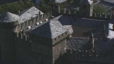 Château médiéval de Fénis,  Vallée d'Aoste