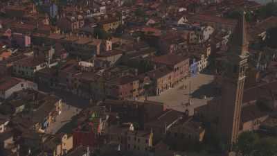 l'île de Burano, Lagune de Venise