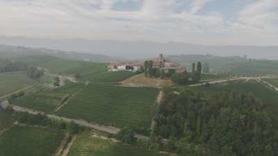 Vignes et villages en Ligurie