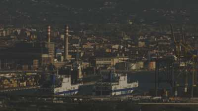 Port industriel de Livourne et Vallée Benedetta