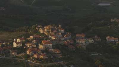 Campagne toscane, province de Pise