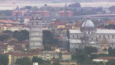Côte et plans de la ville de Pise, Tour de Pise