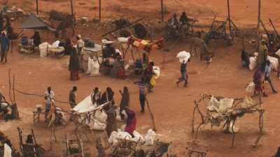 Entrepots de stockage, distribution, WFP