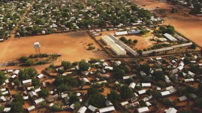 Ecoliers du camp de réfugiés