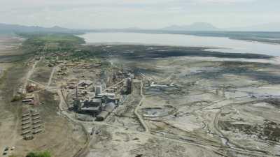 L'usine de soude du lac Magadi