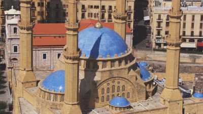 Gros plans sur la Mosquée et cathédrale