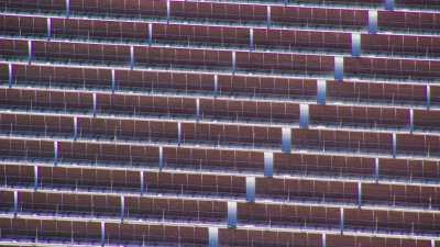Gros plans sur Centrale solaire Noor