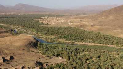 La vallée du Drâa entre Agdz et Zagora
