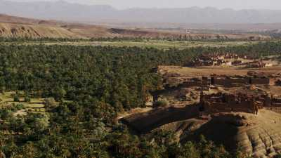 La vallée du Draa autour de Zagora