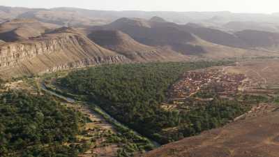 La vallée du Draa et arrivée sur la ville