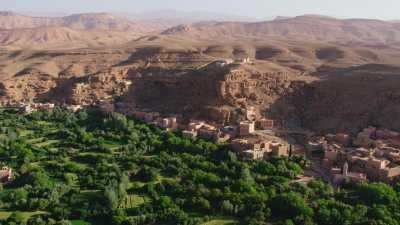 Villages dans la vallée du M'Goun