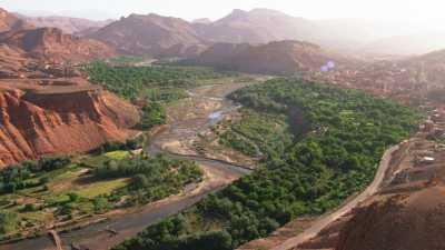 Le long de la vallée du M'Goun