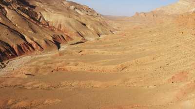 Canyon coloré entre les Gorges du Dades et la Vallée du M'goun