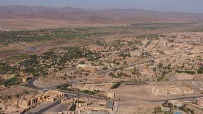 Survol de la ville de Ouarzazate