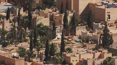 Résidences et leurs piscines à Ouarzazate