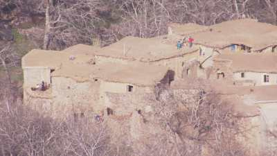 Habitants des montagnes, près de Tacheddirt