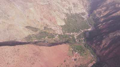 Villages au pied des montagnes: Imi Oughlad, Tinitine, Aremd et Imlil, dans les environs d'Asni