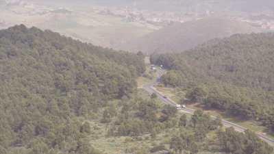 Forets et routes de montagne dans les environs de Tamagueurt et Talbanine