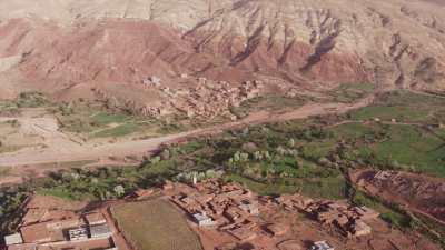 Villages et montagnes, environs de Telouet