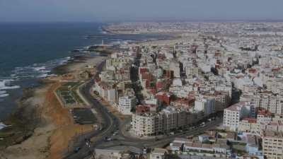 Approche de Rabat par la côte