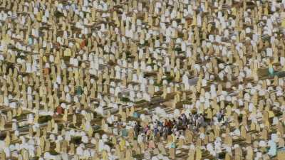Cimetière près des Oudayas