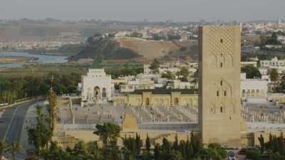 Tour Hassan et mausolée de Mohammed V