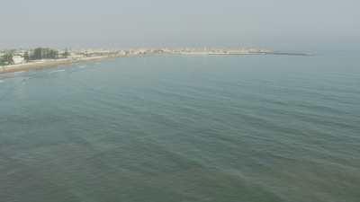 Côte, ville d'El Jadida