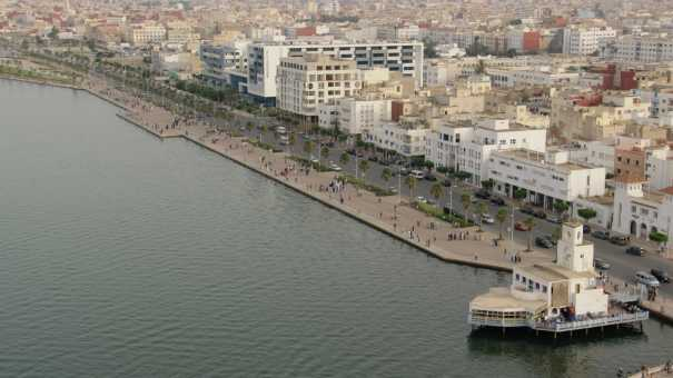 Front de mer (lagune) de Nador