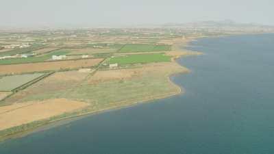 Champs, cultures en bord de Méditerranée à Nador