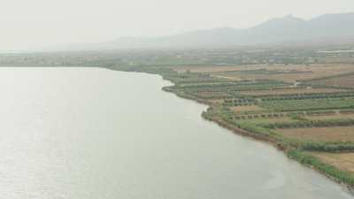 Champs sur le litoral près de Nador