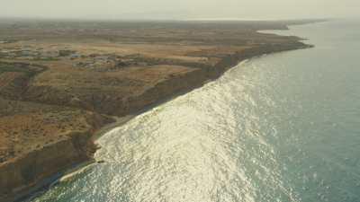 Falaises et plages près de Nador