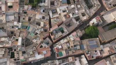 Vues de la ville et des toits