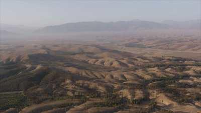 Montagnes près de Lalla Takerkoust
