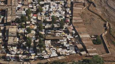 Village, marchés dans la région d'Asni, Ouirgane, Marrakech