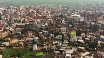Ville d'Antsirabé et ses alentours