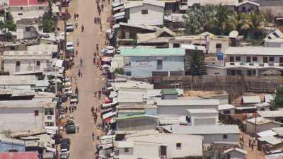 La ville d'Antsirabé, le marché, les villages alentour