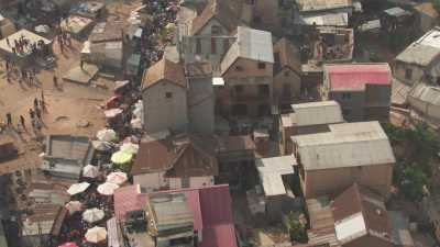le marché dans les rues de la ville