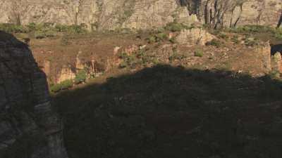 Falaises rouges, Parc National d'Isalo