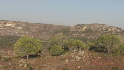 Falaises et gorges, Parc National d'Isalo