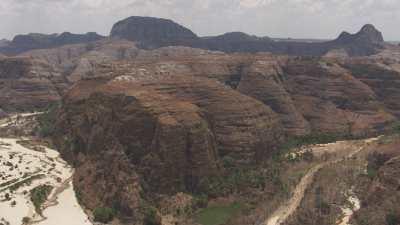 Gorges dans le Parc National d'Isalo